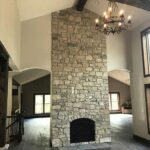 Home Painting Fireplace